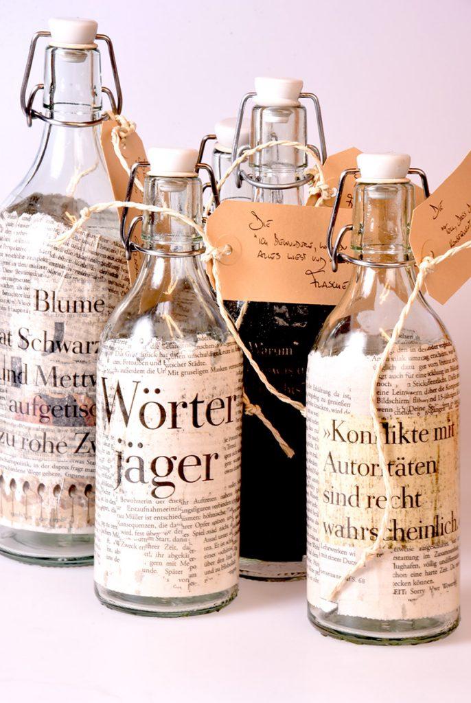 Literarische Flasche:Rainer Juriatti