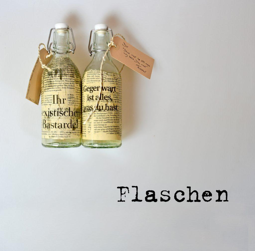 Literarische Flasche